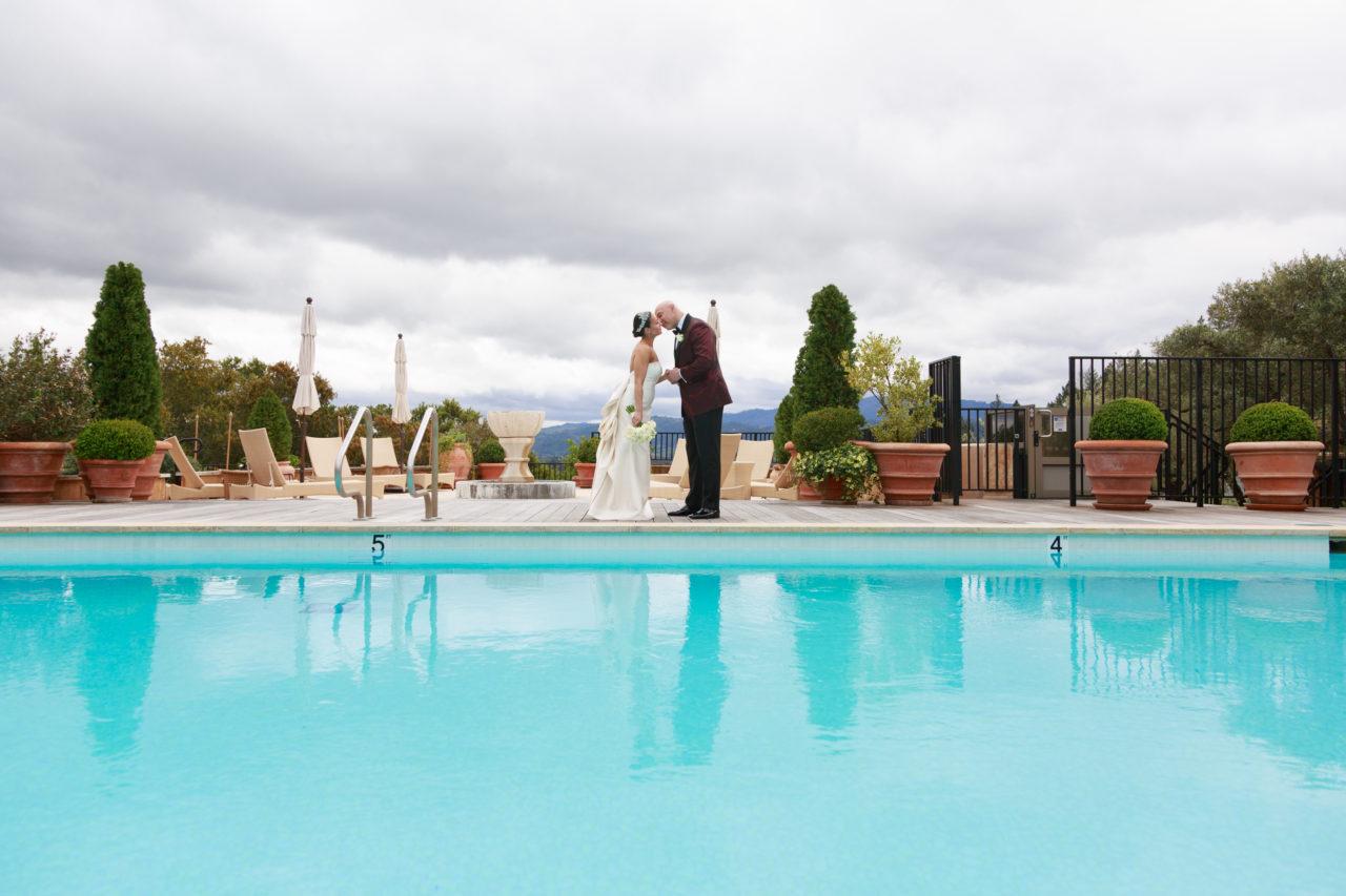 Auberge du Soleil pool
