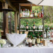 Auberge du Soleil wedding drinks