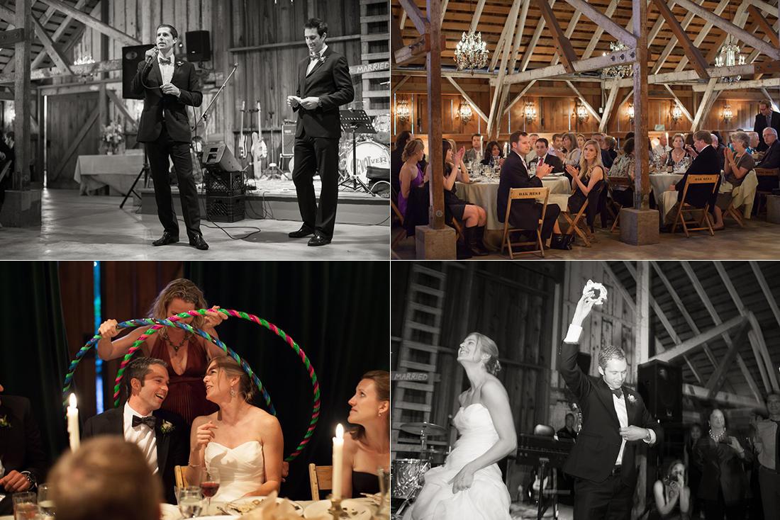 Bolinas Peace Barn Wedding