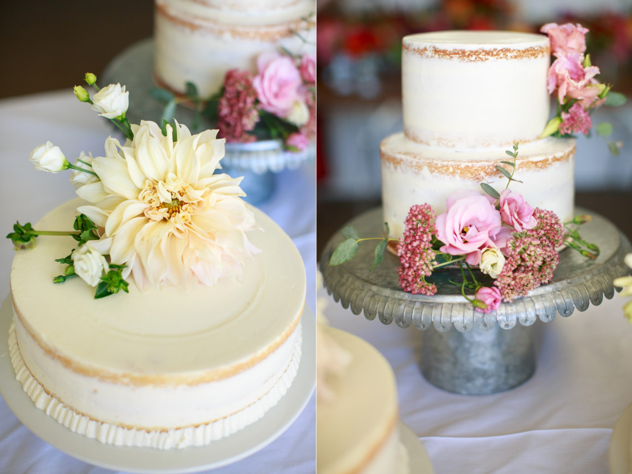 homemade wedding cakes