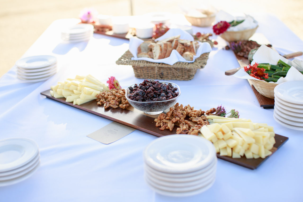 point reyes wedding catering