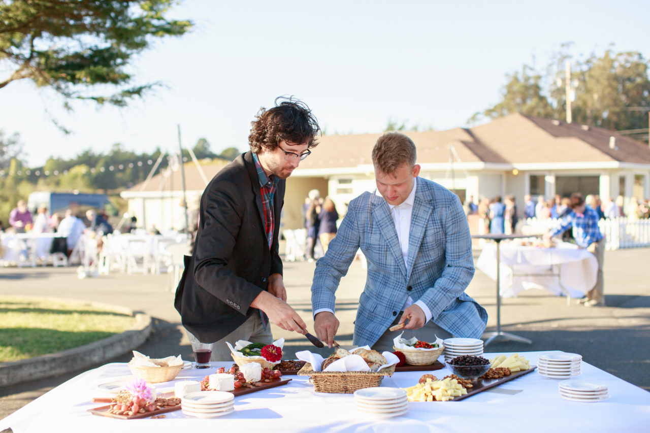 point reyes catering wedding