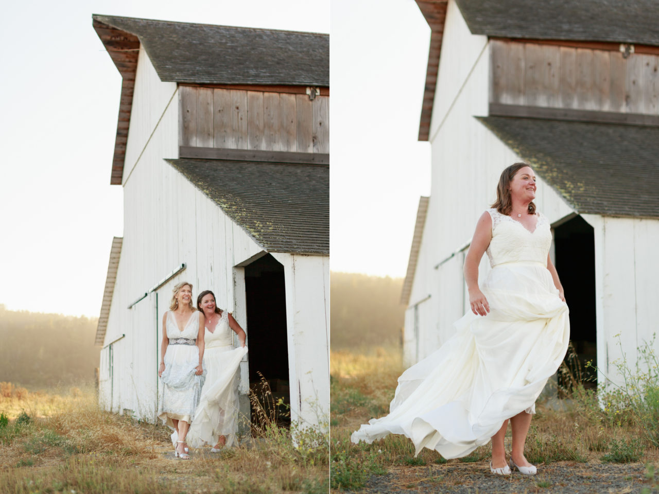 giacomini barn same sex wedding