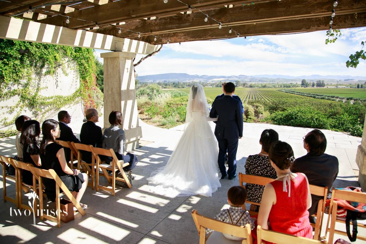 Gloria Ferrer Anese Wedding