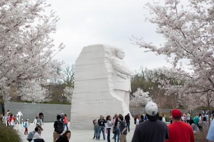 Martin Luther King Jr Memorial in Washington DC