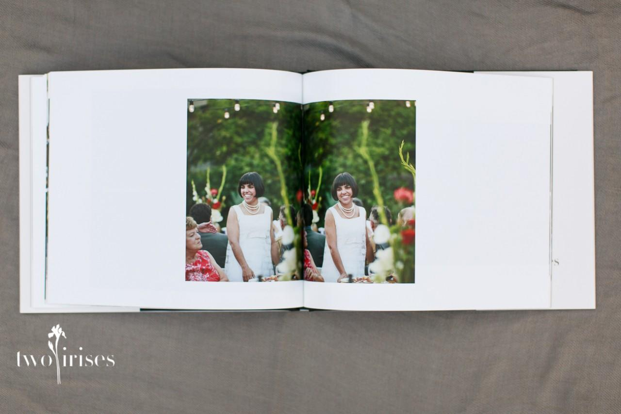 Coffee Table Book Two Irises
