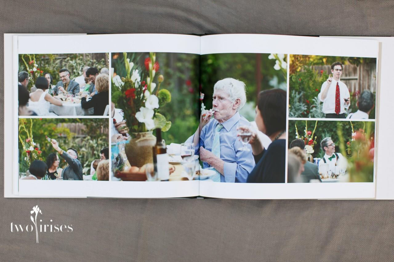 Here Is The Lovely Coffee Table Book For Our Backyard Wedding Couple Judy And Chris Intentionally Live With Minimal Possessions And Here Is One Item That