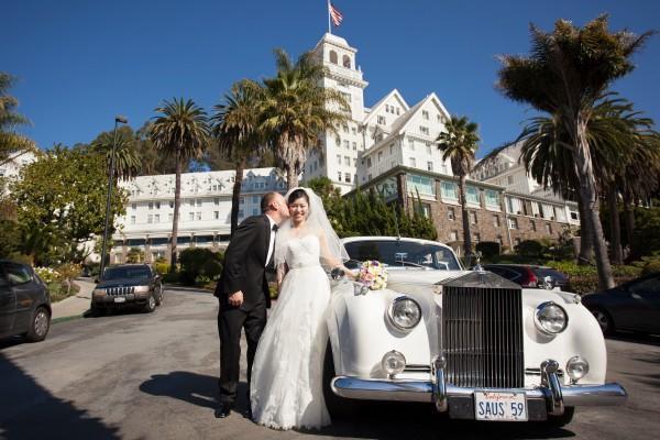 Claremont Hotel, Berkeley wedding