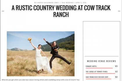 barn wedding feature in Woman Getting Married