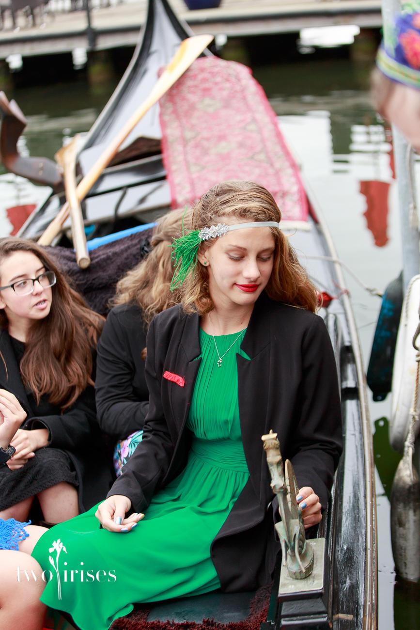 mitzvah on a gondola