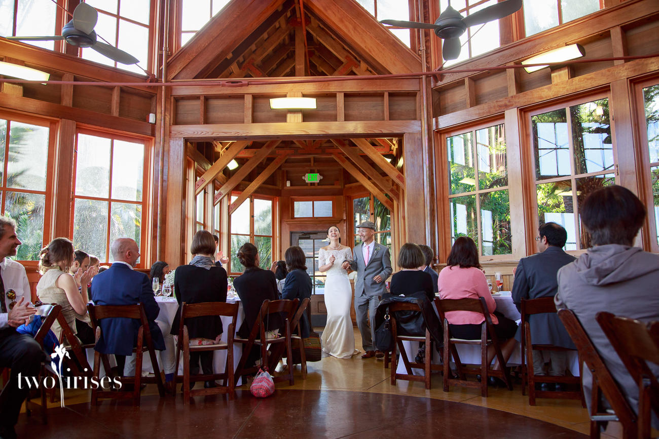 Sunnyside Conservatory wedding, San Francisco
