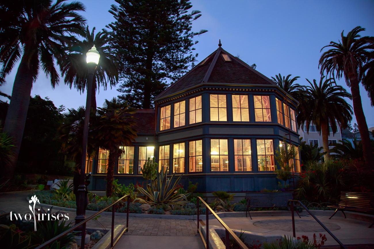 Sunnyside Conservatory at dusk