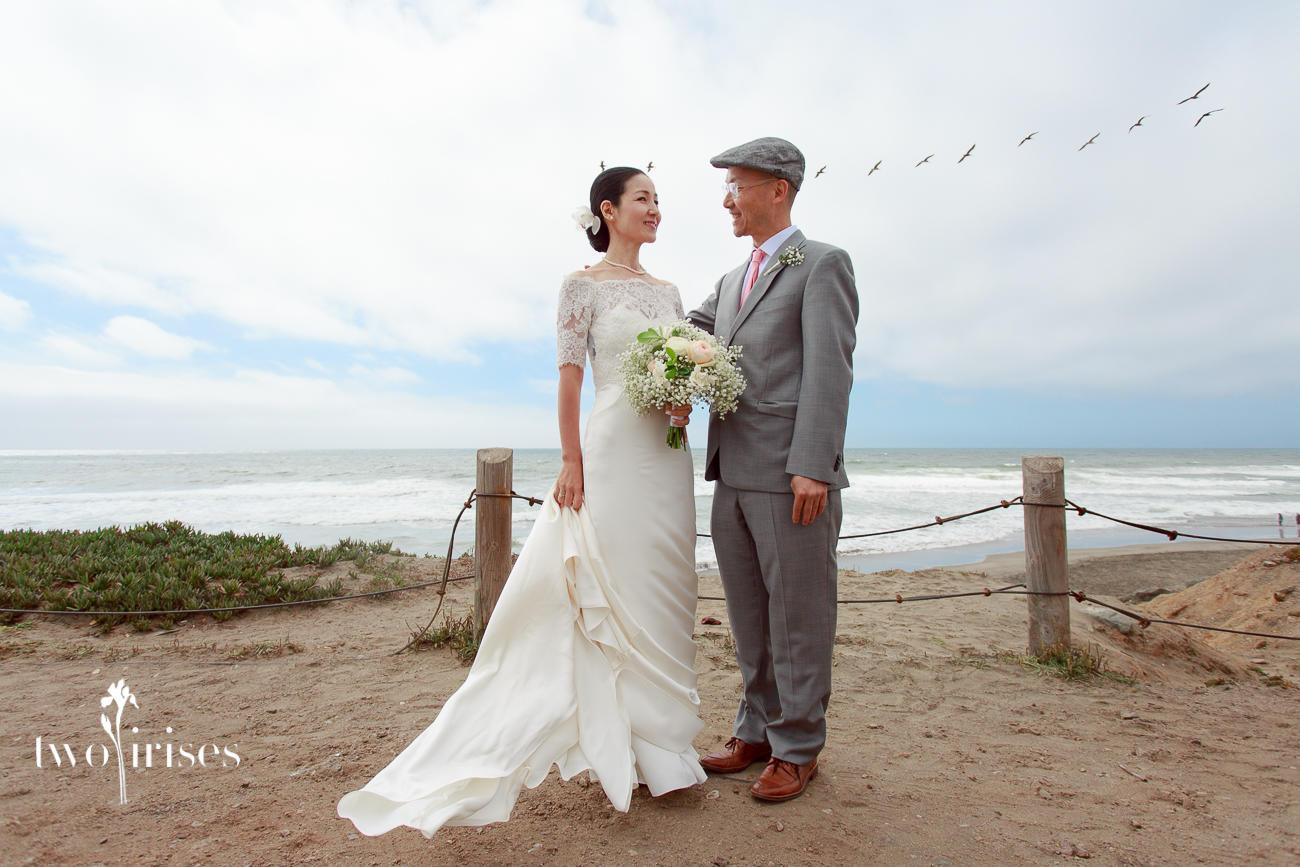 ocean beach san francisco wedding