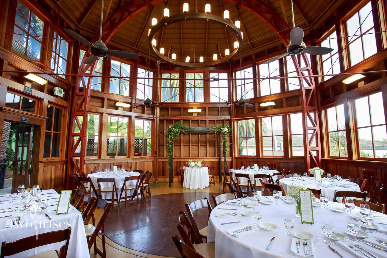 Sunnyside Conservatory wedding, Fogcutter