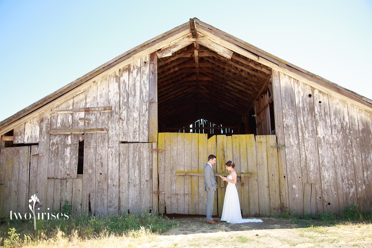 barn wedding Nicasio