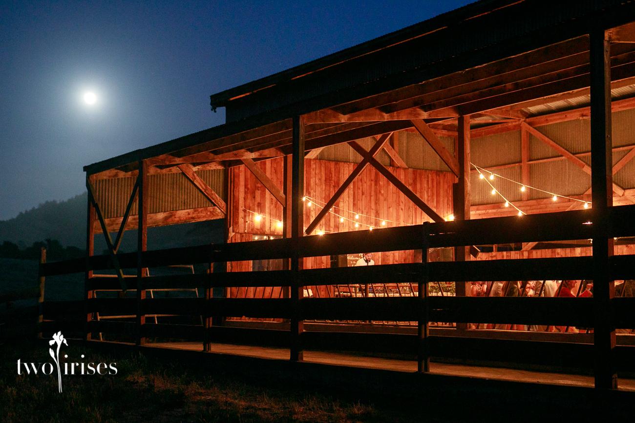 Cow Track Ranch barn wedding