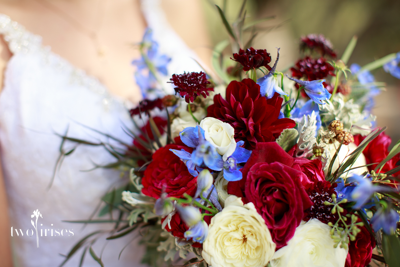Garden Party Napa bridal bouquet