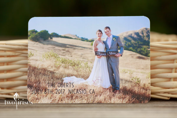 cow track ranch thank you card