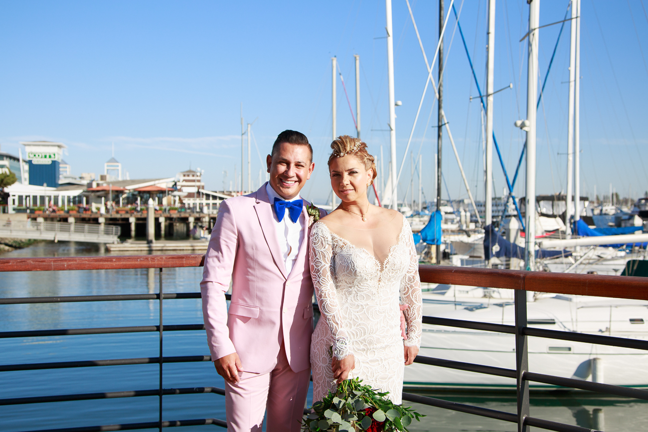 Waterfront Hotel Oakland wedding