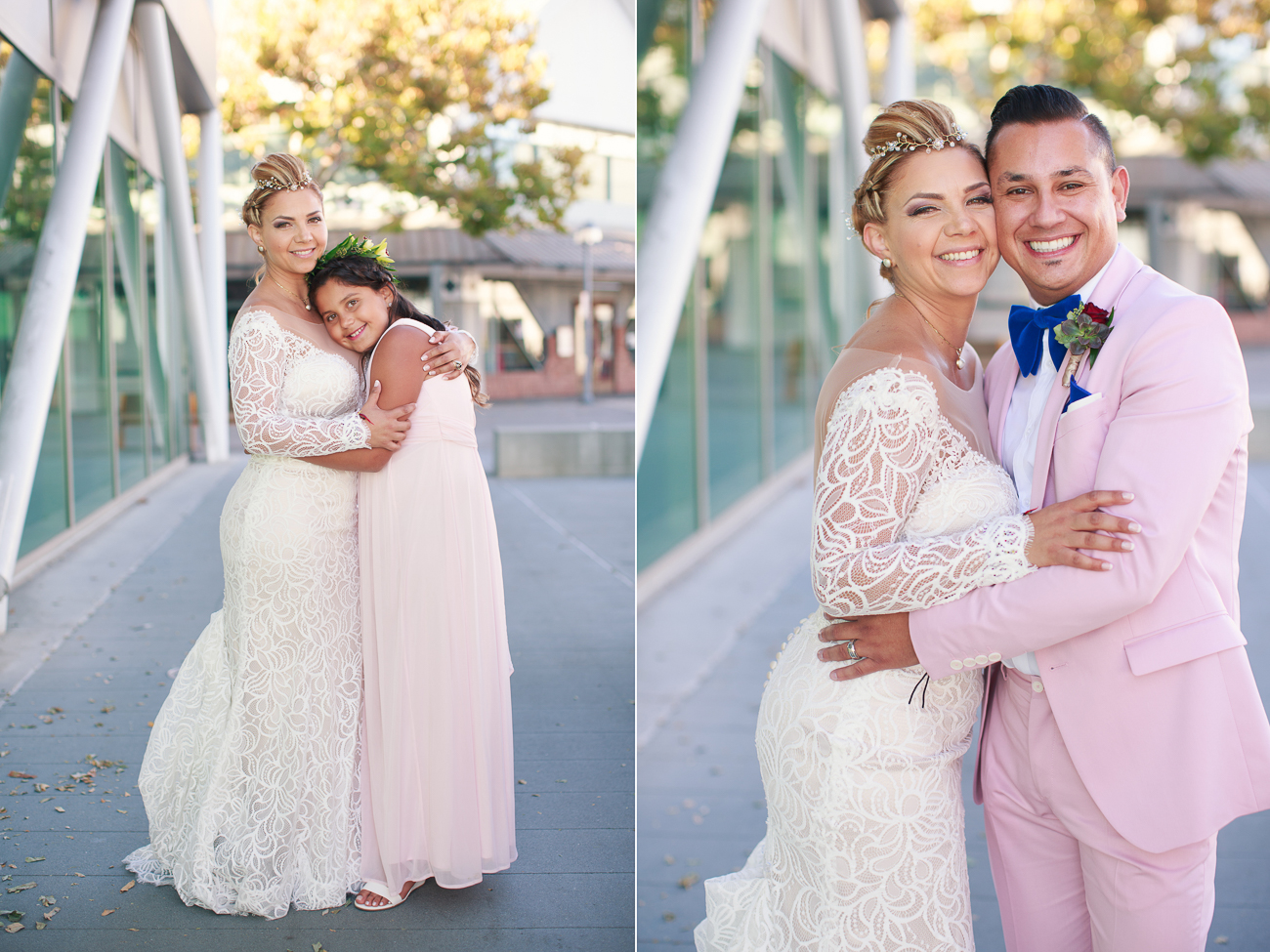 Jack London Square wedding