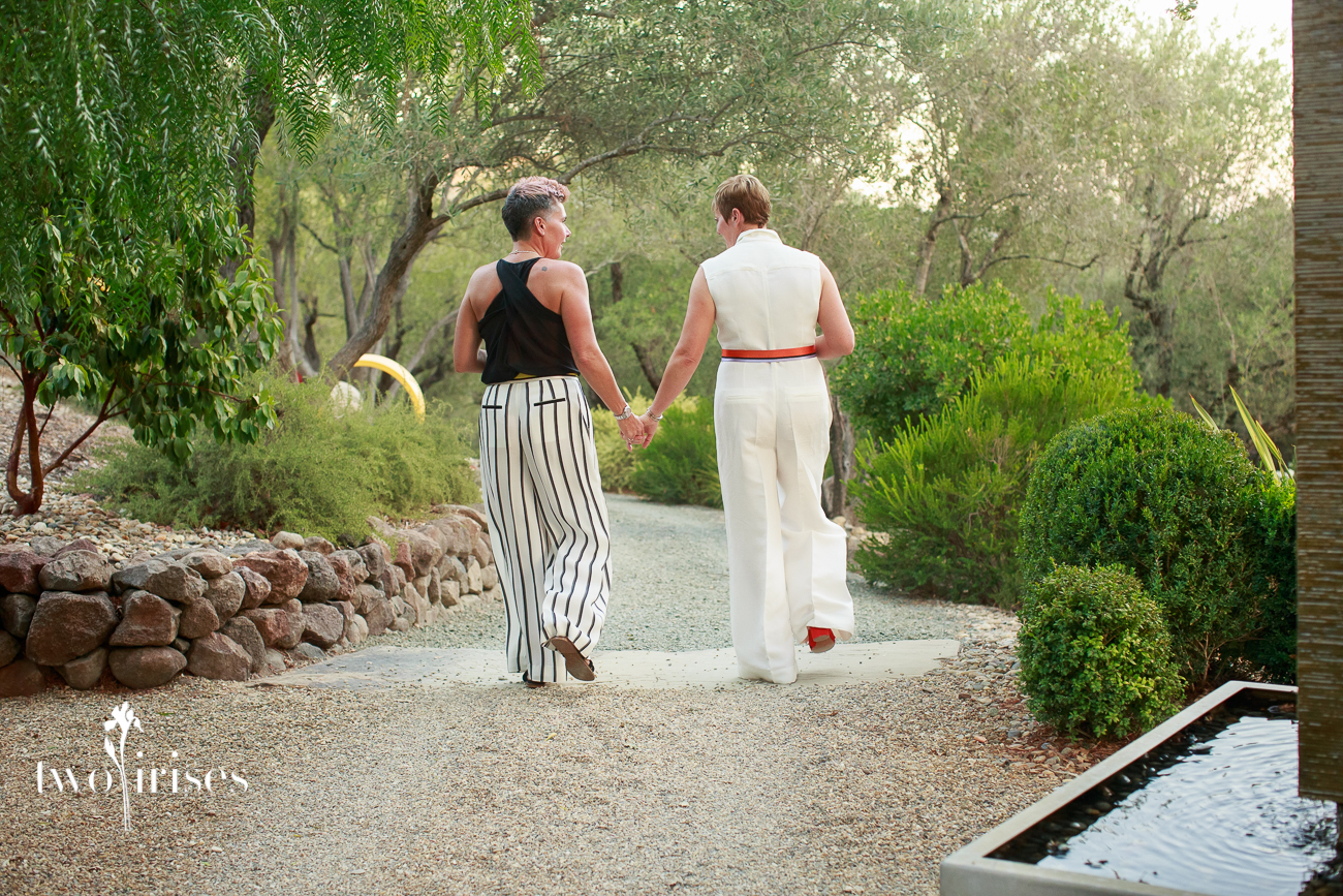 love is love, wedding at auberge du soleil