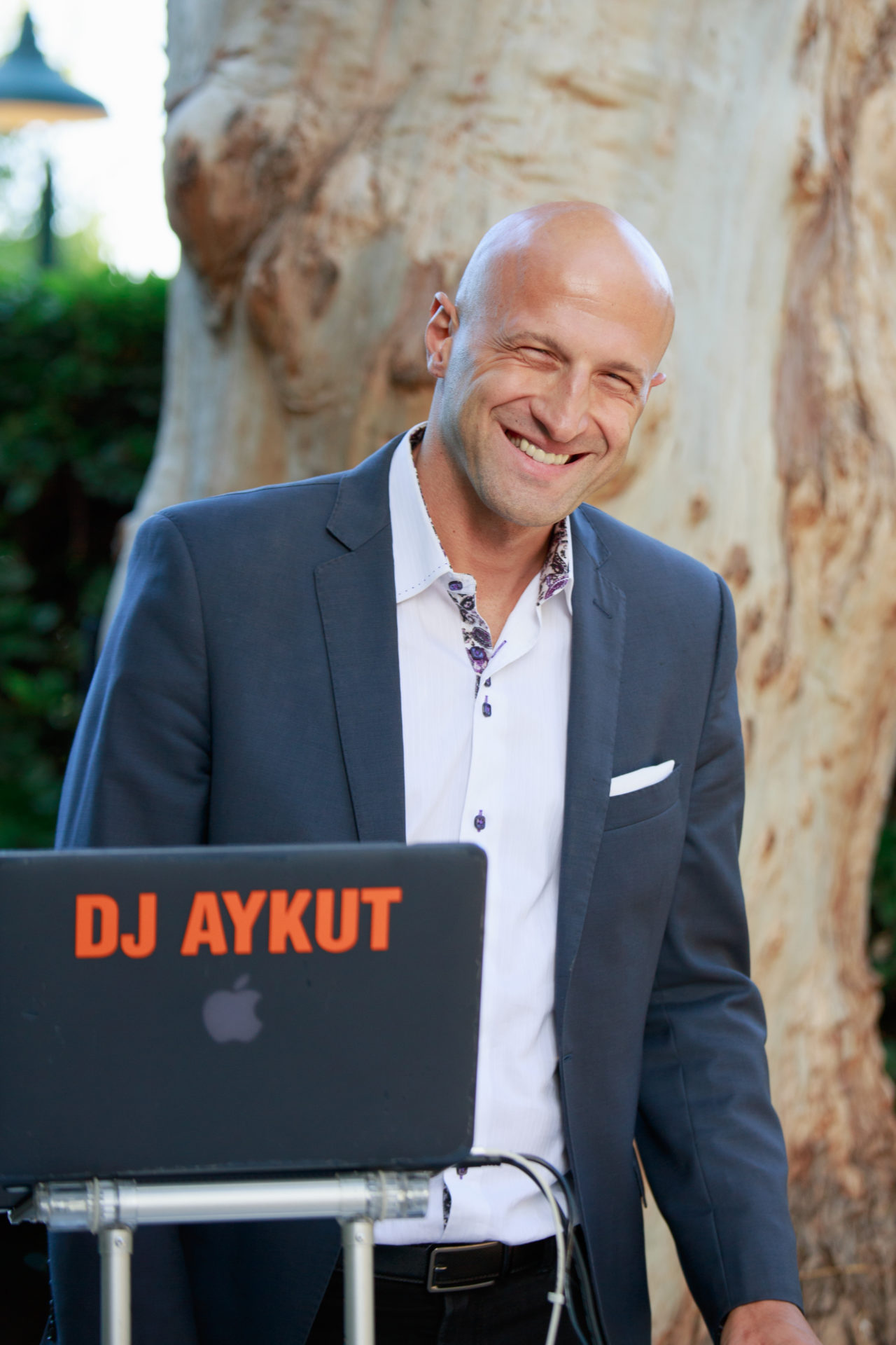 DJ Aykut at Cline Cellars