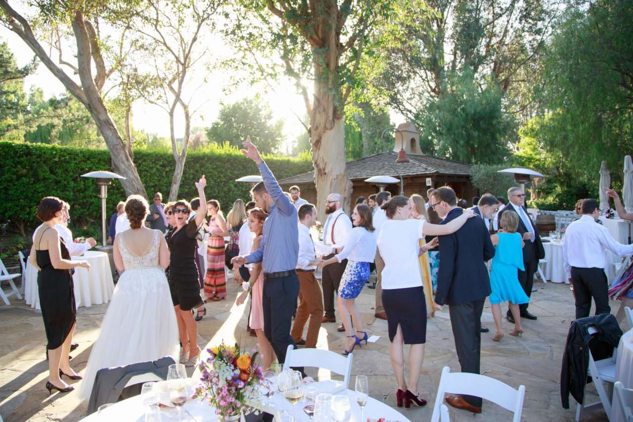Flagstone Patio wedding at Cline Cellars