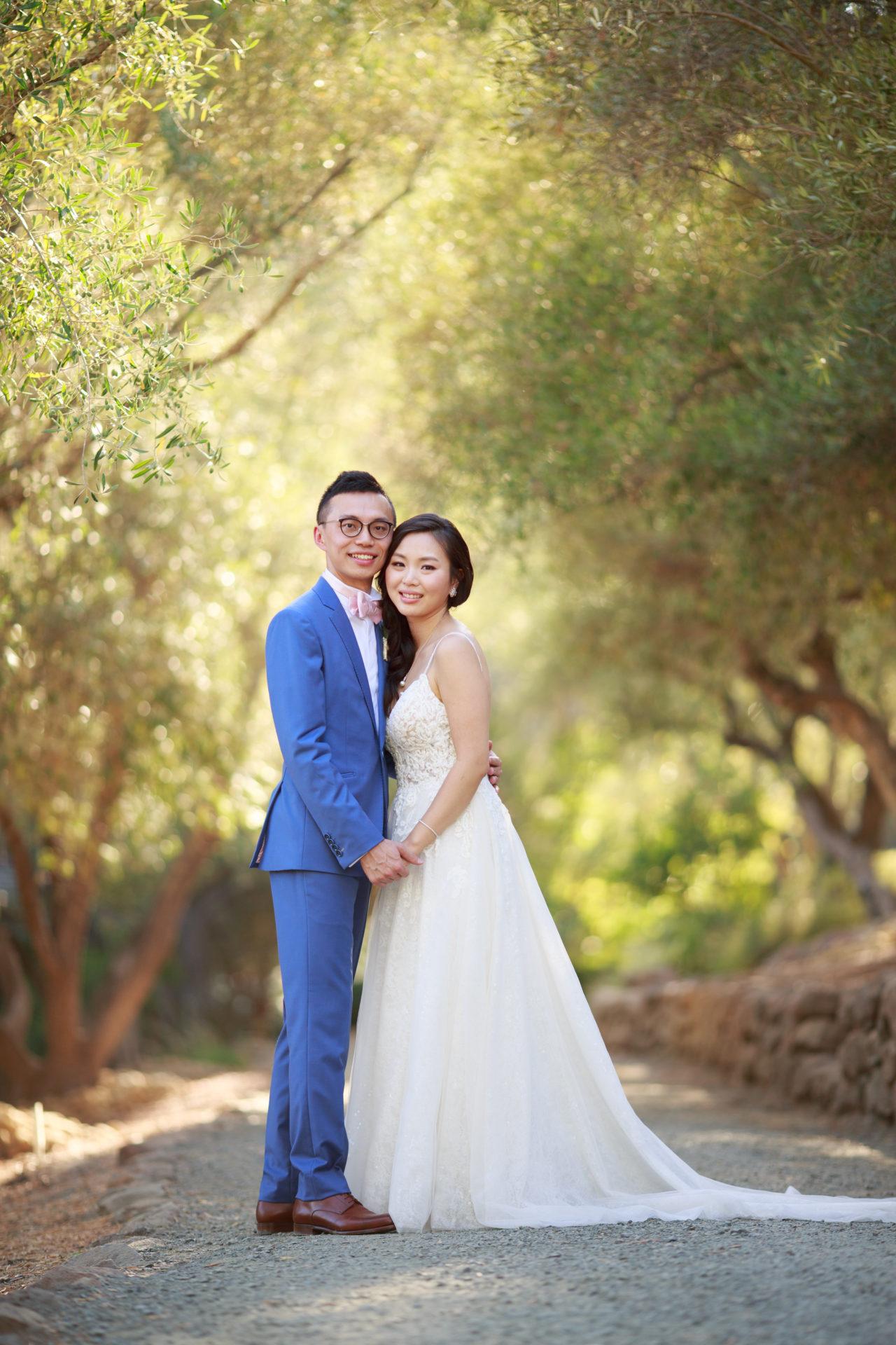 Auberge du Soleil wedding